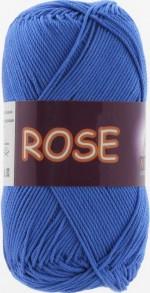 Пряжа для вязания Vita Cotton Rose (Вита Роза) Цвет 3931 ярко-синий