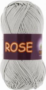 Пряжа для вязания Vita Cotton Rose (Вита Роза) Цвет 3939 серебро