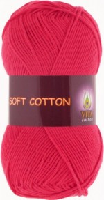 Vita Cotton Soft Cotton Цвет 1816 красный