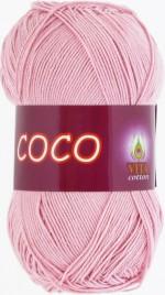 Пряжа для вязания Vita Cotton Coco Цвет 3866 чайная роза