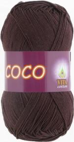 Vita Cotton Coco Цвет 4322 темный шоколад