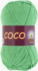Пряжа для вязания Vita Cotton Coco Цвет 4324 ментол