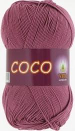 Пряжа для вязания Vita Cotton Coco Цвет 4326 дымчато-розовый