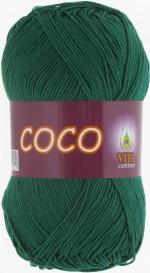 Пряжа для вязания Vita Cotton Coco Цвет 4327 зеленый