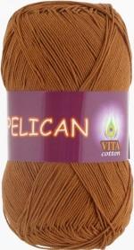 Пряжа для вязания Vita Cotton Pelican (Вита Пеликан) Цвет 4004 теплый бежевый