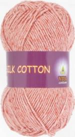 Vita Cotton Silk Cotton Цвет 4711 оранжевый коралл