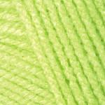 YarnArt Baby Цвет 13854 зеленый неон