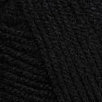 Пряжа для вязания YarnArt Baby (Ярнарт Беби) Цвет 585 черный