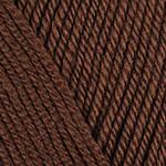 Пряжа для вязания YarnArt Bianca Babylux Цвет 361 коричневый