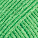 Пряжа для вязания YarnArt Jeans Цвет 60 светло зеленый