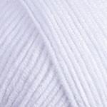 Пряжа для вязания YarnArt Jeans Цвет 62 супер белый