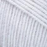 Пряжа для вязания YarnArt Jeans Цвет 01 белый