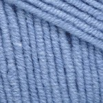 Пряжа YarnArt Jeans (Ярнарт Джинс) Цвет 15 голубой
