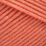 YarnArt Jeans Цвет 23 оранжевый