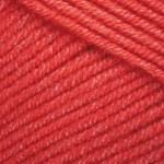 Пряжа YarnArt Jeans (Ярнарт Джинс) Цвет 26 красный