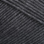 Пряжа для вязания YarnArt Jeans Цвет 28 черный