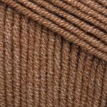 YarnArt Jeans Цвет 40 коричневый