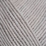 Пряжа YarnArt Jeans (Ярнарт Джинс) Цвет 49 серый