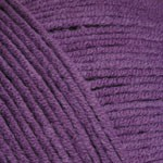 Пряжа YarnArt Jeans (Ярнарт Джинс) Цвет 50 баклажан