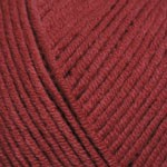 YarnArt Jeans Цвет 51 бордовый