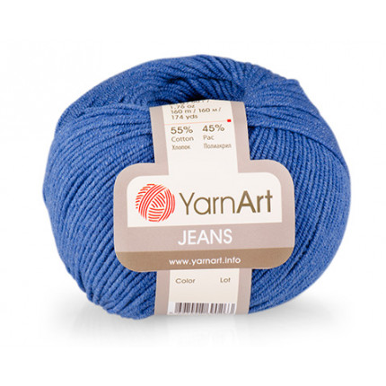 Пряжа YarnArt Jeans (Ярнарт Джинс)