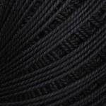 Пряжа для вязания YarnArt Lily (Ярнарт Лили) Цвет 9999 черный