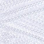 Пряжа для вязания YarnArt Macrame (Ярнарт Макраме) Цвет 154 супер белый