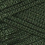 Пряжа для вязания YarnArt Macrame (Ярнарт Макраме) Цвет 164 темно зеленый