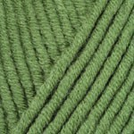 YarnArt Merino Bulky Цвет 098 зеленый