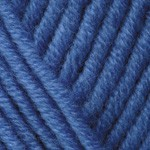 YarnArt Merino Bulky Цвет 600 голубой