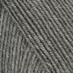 Пряжа для вязания YarnArt Merino de Luxe 50 (Ярнарт Мерино да Люкс 50) Цвет 179 средне серый