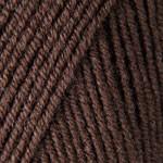 Пряжа для вязания YarnArt Merino de Luxe 50 (Ярнарт Мерино да Люкс 50) Цвет 116 темно коричневый