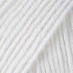 Пряжа для вязания YarnArt Merino de Luxe 50 (Ярнарт Мерино да Люкс 50) Цвет 501 белый
