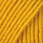 Пряжа для вязания YarnArt Merino de Luxe 50 (Ярнарт Мерино да Люкс 50) Цвет 586 желтый