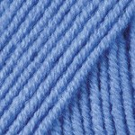 Пряжа для вязания YarnArt Merino de Luxe 50 (Ярнарт Мерино да Люкс 50) Цвет 600 голубой
