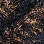 Пряжа для вязания YarnArt Rabbit (Ярнарт Раббит) Цвет 556 черный коричневый