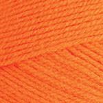 Пряжа для вязания YarnArt Super Perlee Цвет 71 оранжевый