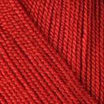 Пряжа для вязания YarnArt Super Perlee Цвет 207 темно красный