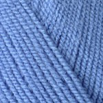 Пряжа для вязания YarnArt Super Perlee Цвет 224 голубой