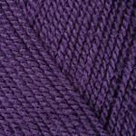 Пряжа для вязания YarnArt Super Perlee Цвет 49 темный фиолет