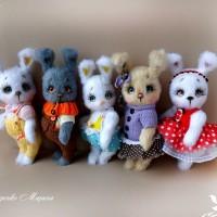 Вязаные игрушки от автора Марина