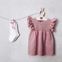 Детское платье и гольфы от автора Юлия