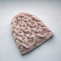Весенняя шапочка бини от автора Лилия