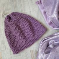 Весенняя шапочка бини 2 от автора Лилия